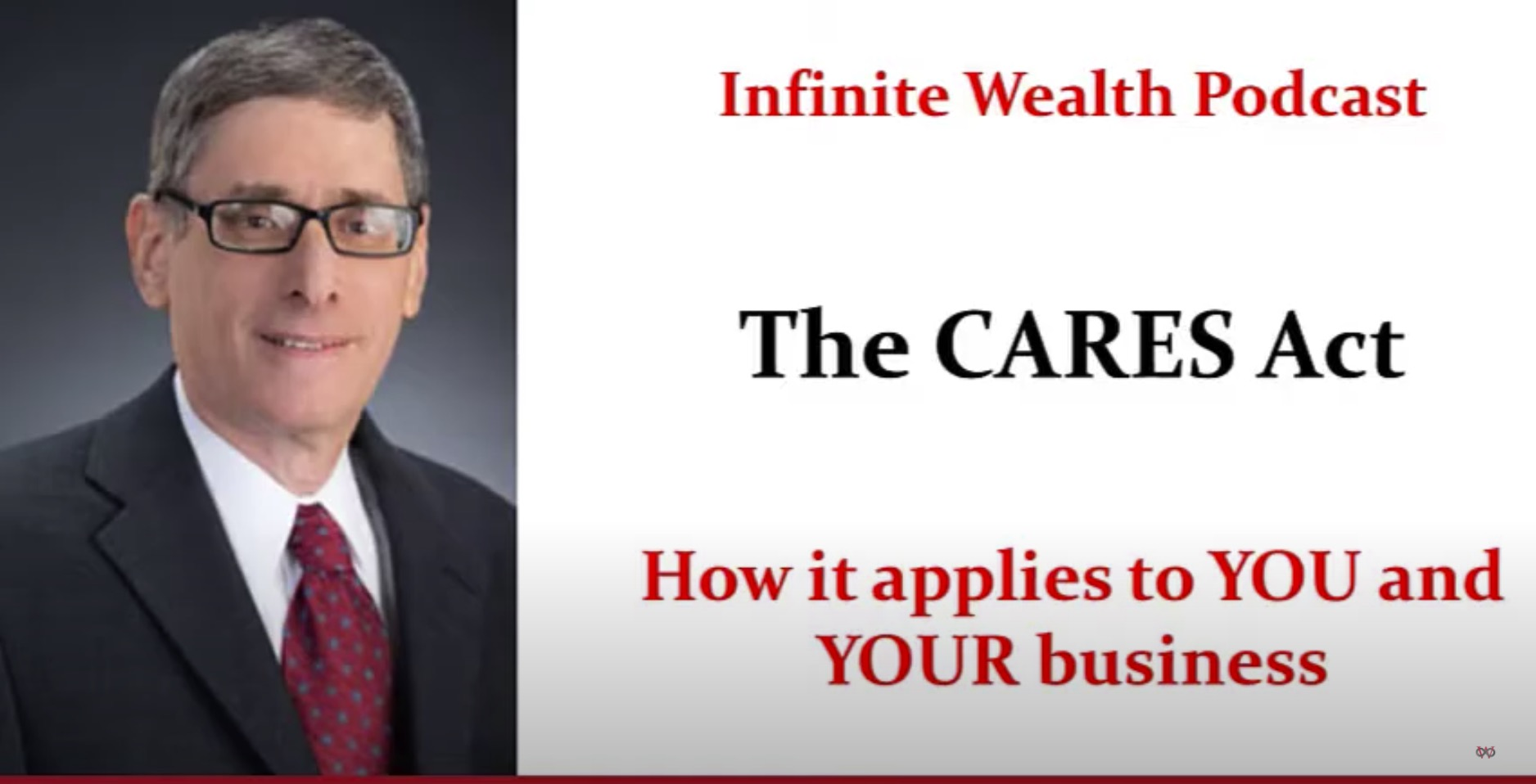 The CARES Act and YOUR Business
