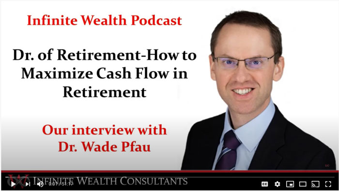 Maximizing YOUR Cash Flow in Retirement with the Dr of Retirement, Dr. Wade Pfau